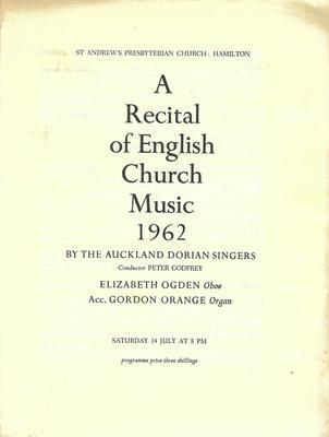 Auckland Dorian Singers