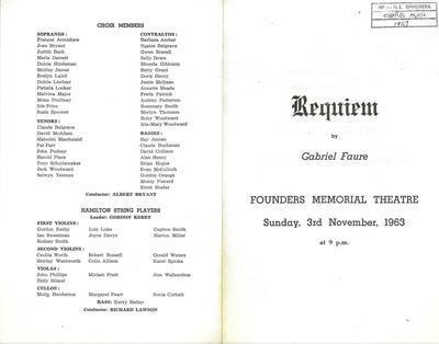 Requiem by Gabriel Faure