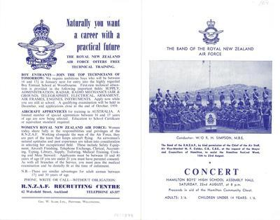 The Band of the Royal New Zealand Air Force