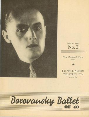 Borovansky Ballet of 40 programme No. 2