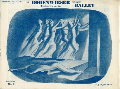 The Bodenwieser Ballet . Programme No 2. NZ Tour 1947.