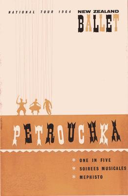 Petrouchka - National Tour 1964. New Zealand Ballet