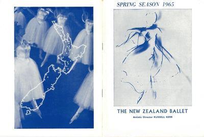 New Zealand Ballet spring season 1965