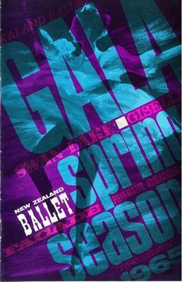 New Zealand Ballet Gala spring season 1965
