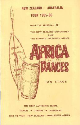 Africa Dances on stage