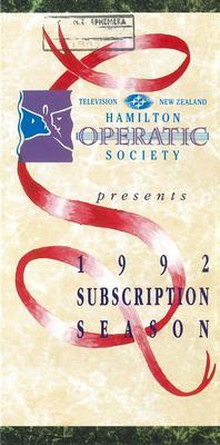 1992 Subscription Season