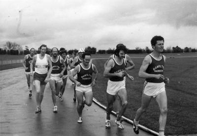 Hamilton Harriers 1974 Championship at Porritt Stadium