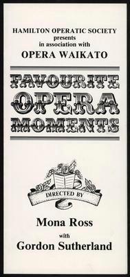 Favourite Opera Moments