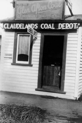 Claudelands Coal Depot's orders office