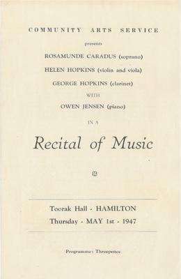 Recital of Music