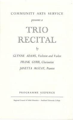 Trio Recital