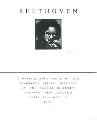 Pascal Quartet : Beethoven quartets