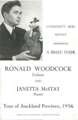 Ronald Woodcock and Janetta McStay