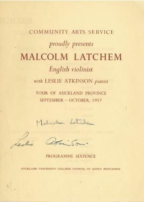 Malcom Latchemand Leslie Atkinson