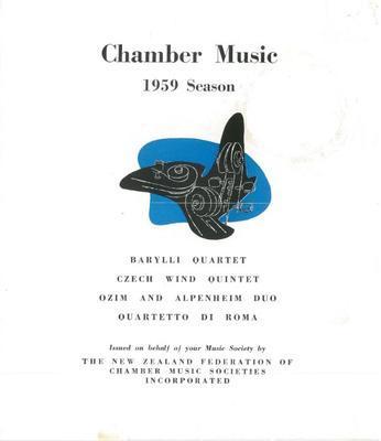 Chamber Music 1959 Season