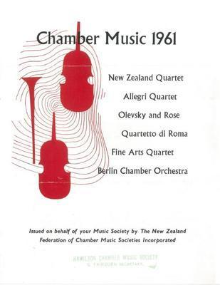 Chamber Music 1961