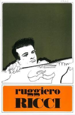 Ruggiero Ricci violin recital