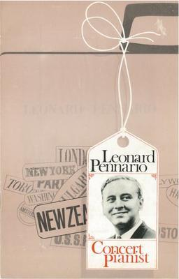 Leonard Pennario in Recital