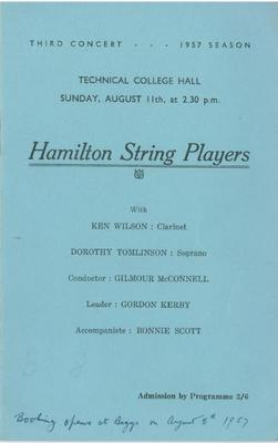 Hamilton String Players