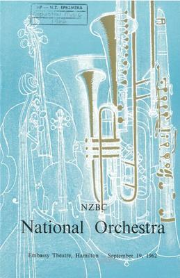 National Orchestra of the New Zealand Broadcasting Corporation