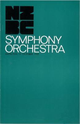 NZBC Symphony Orchestra