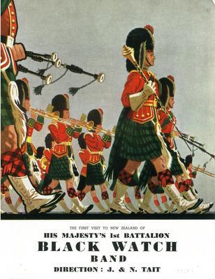 His Majesty's 1st Battalion Black Watch Band