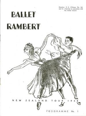 Ballet Rambert (Australian - New Zealand Tour, 1947 - 1948)