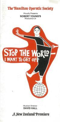 Stop the World - I Want to Get Off advertising