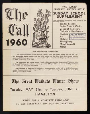 The Call 1960. Sunday School Supplement