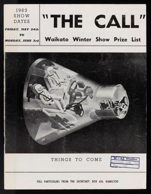 The Call. Waikato Winter Show Prize List 1963