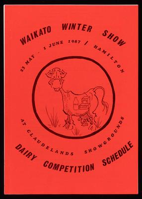 Waikato Winter Show Dairy Competition Schedule