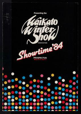 Waikato Winter Show. Showtime '84