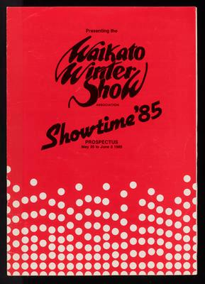 Waikato Winter Show. Showtime '85