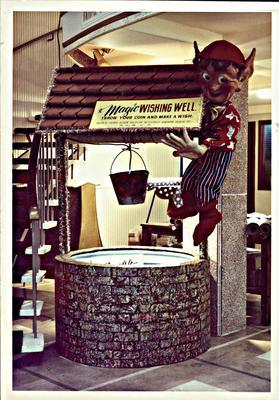 H. & J. Court Ltd. in-store wishing well