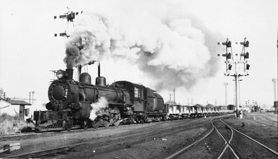 Locomotive at Frankton Junction
