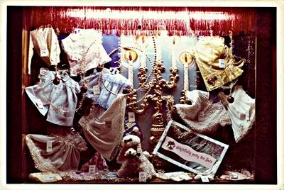 H. & J. Court Ltd. Christmas 1965 window display