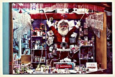 H. & J. Court Ltd. Christmas 1965 window display