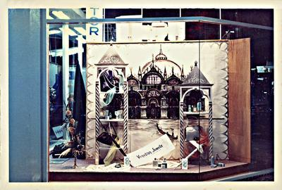 "H. & J. Court Ltd. window display - ""Venetian Jewels"""
