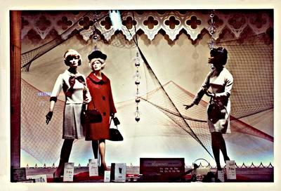 "H. & J. Court Ltd. ""Raymonde Parade"" window display"