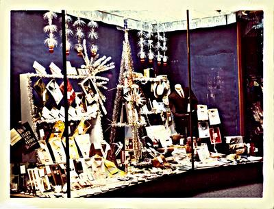 H. & J. Court Ltd. Christmas 1966 window display