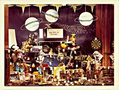 H. & J. Court Ltd. Christmas 1966 window display