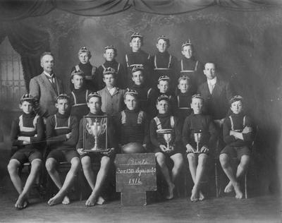 Boys' Rugby Team 1914