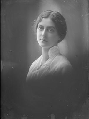 Head and shoulders portrait of a woman