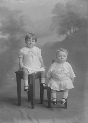 Two babies- Powell
