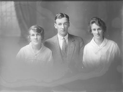 Portrait of 1 man and 2 women -  McCaffery