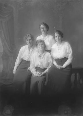 Portrait of four women - McNaughton