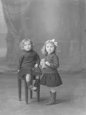 Two small children - McConley