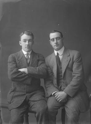 Portrait of two men - McKenzie and Ryan