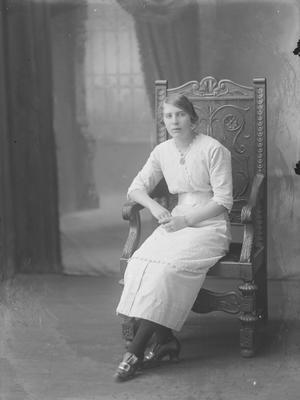 Full length portrait of young woman - McCandlish