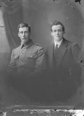Portrait of two men - McHaggie